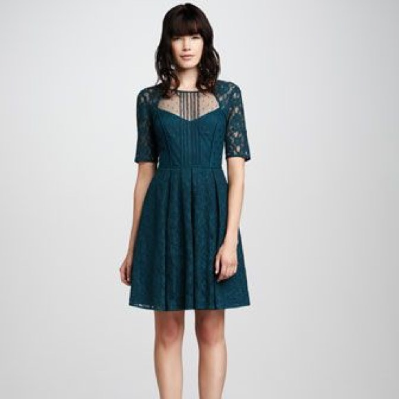 68c117f29a6 BCBGMAXAZRIA Julya Lace Cocktail Dress